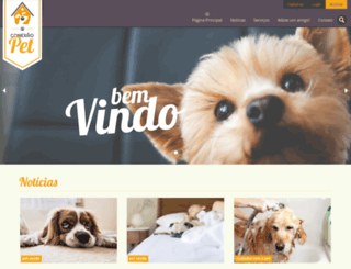 conexaopet.com.br screenshot