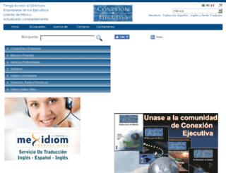 conexionejecutiva.com screenshot