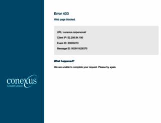 conexus.ca screenshot