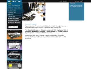 conf.hypertec.co.uk screenshot