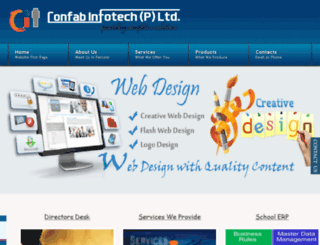 confabinfotech.com screenshot