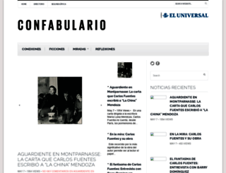 confabulario.eluniversal.com.mx screenshot