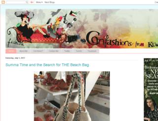 confashionsfromkuwait.com screenshot