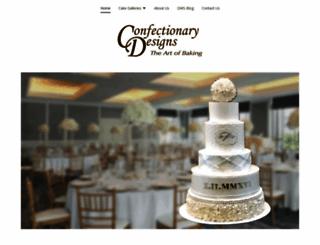 confectionarydesigns.com screenshot