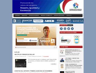 confedeportes-cba.blogspot.com screenshot