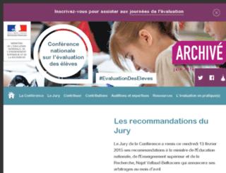conference-evaluation-des-eleves.education.gouv.fr screenshot