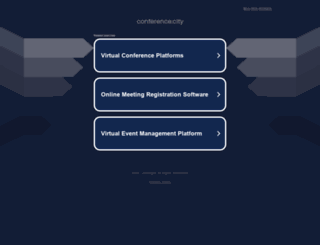 conference.city screenshot