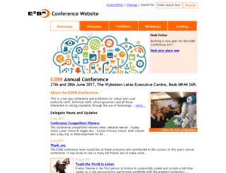 conference.e2bn.org screenshot