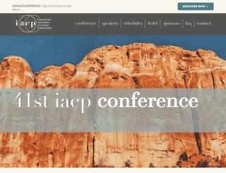 conference.iacp.com screenshot
