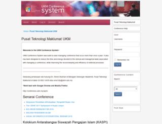 conference.ukm.my screenshot