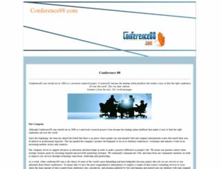 conference88.com screenshot