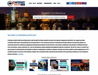 conferencealerts.org screenshot