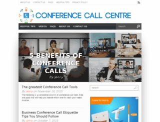 conferencecallcentre.com screenshot