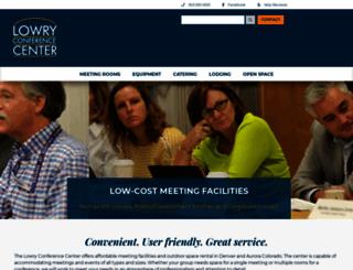 conferencecenter.cccs.edu screenshot