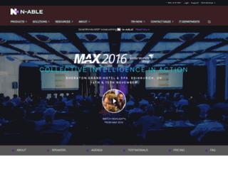 conferences.gfimax.com screenshot
