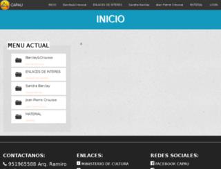 conferencia.arquitectura-uancv.edu.pe screenshot