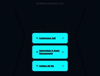 conferencingnews.com screenshot