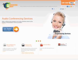 conferencingshopper.com screenshot