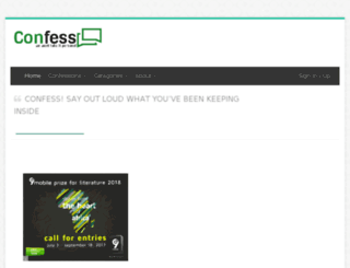 confess.com.ng screenshot