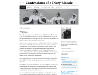 confessionsofadizzyblonde.wordpress.com screenshot