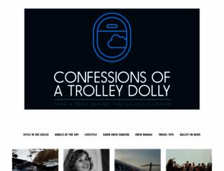 confessionsofatrolleydolly.com screenshot