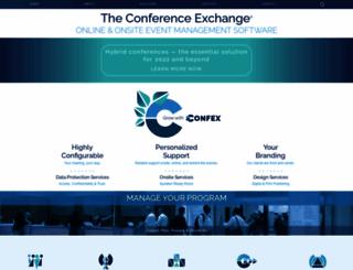 confex.com screenshot