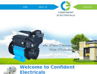 confidentelectricals.com screenshot