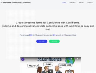 confiforms.com screenshot