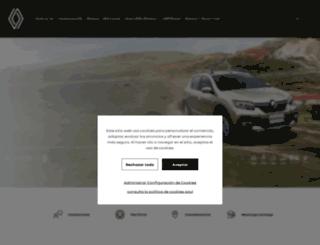 configurador.renault.com.co screenshot