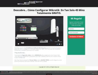 configurarmikrotikwireless.com screenshot