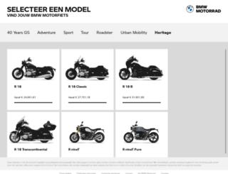 configurator.bmw-motorrad.nl screenshot