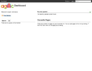 confluence.agillic.com screenshot