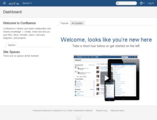 confluence.edifire.com screenshot