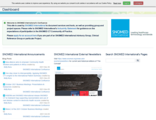 confluence.ihtsdotools.org screenshot