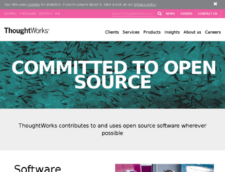 confluence.public.thoughtworks.org screenshot