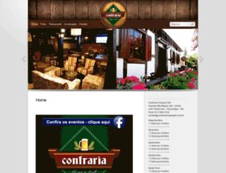 confrariachoppegrill.com.br screenshot