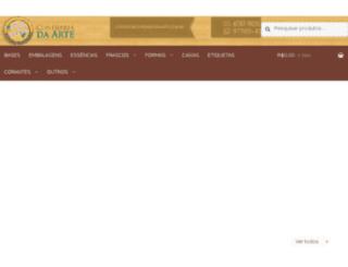 confrariadaarte.com.br screenshot