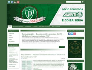 confrariapalestrina.com.br screenshot