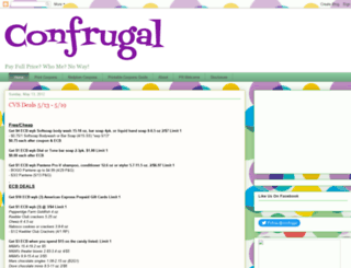 confrugal.blogspot.com screenshot