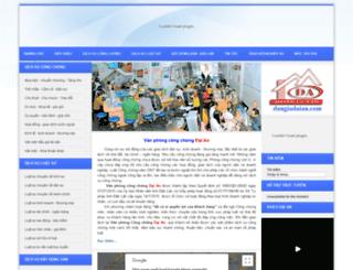 congchungdaian.com.vn screenshot