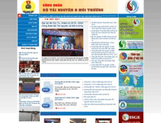 congdoan.monre.gov.vn screenshot