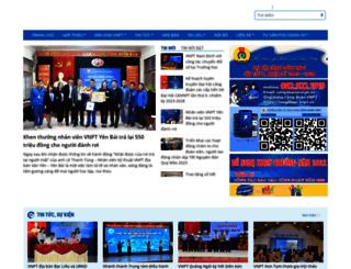 congdoan.vnpt.vn screenshot