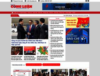 congluan.vn screenshot