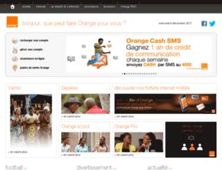 congo.orange.mu screenshot