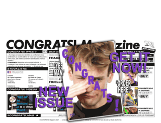 congrats-magazine.com screenshot