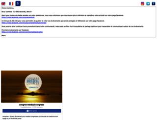 congres-medical.com screenshot