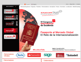 congreso2014.madridexcelente.com screenshot