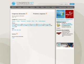 congresos.net screenshot