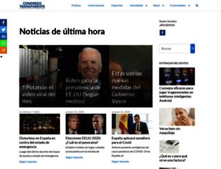 congresotransparente.com screenshot