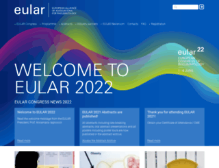 congress.eular.org screenshot